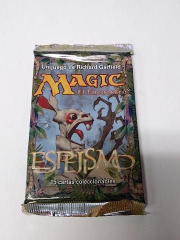 1996 Magic the Gathering MTG Mirage Booster Pack Spanish Sealed Espejismo