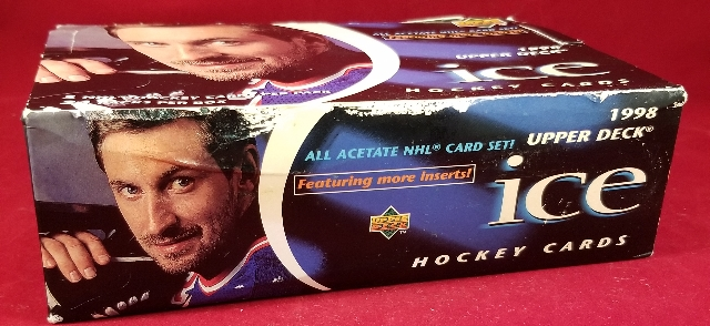 1997/98 Upper Deck Ice Hockey Hobby 24 Pack Box