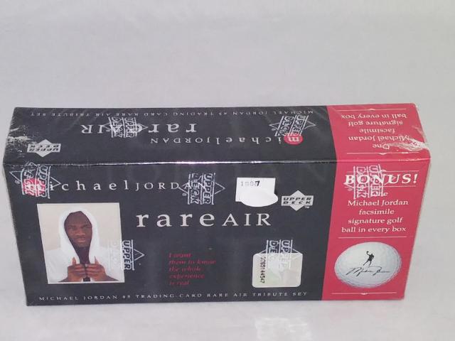 1997 Upper Deck Michael Jordan Rare Air Tribute Set Factory Sealed MJ Golf Ball