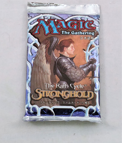 1997 Magic the Gathering MTG Stronghold Booster Pack Japanese Sealed