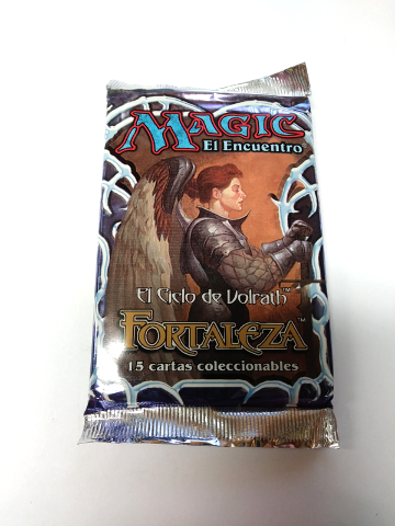 1997 Magic the Gathering MTG Stronghold Booster Pack Spanish Fortaleza Sealed