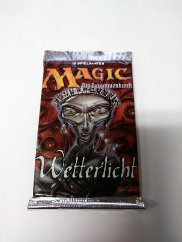 1997 Magic the Gathering MTG Mirage Weatherlight Booster Pack German Sealed