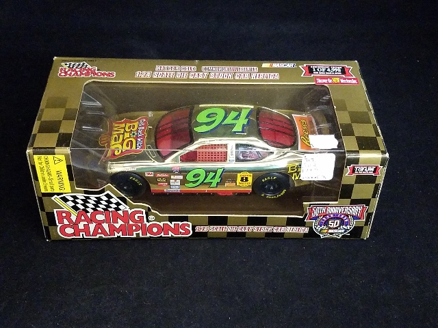 1998 Racing Champions Gold 1:24 #94 Bill Elliott/Big Mac /4998 NIB NASCAR 50th