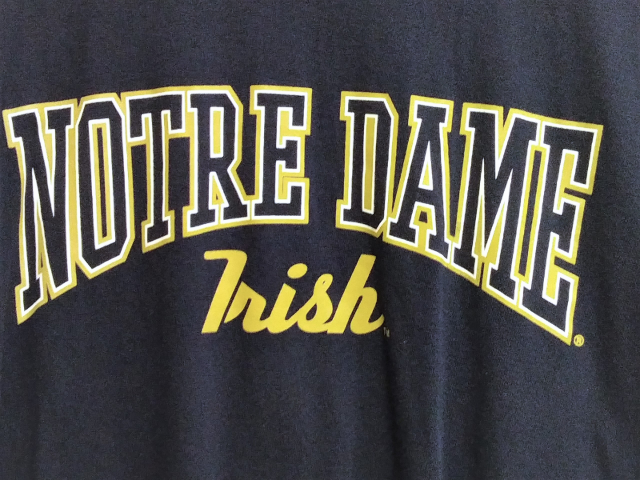 CADRE By Next Navy Blue Notre Dame Fighting Irish T-Shirt Size XL NCAA