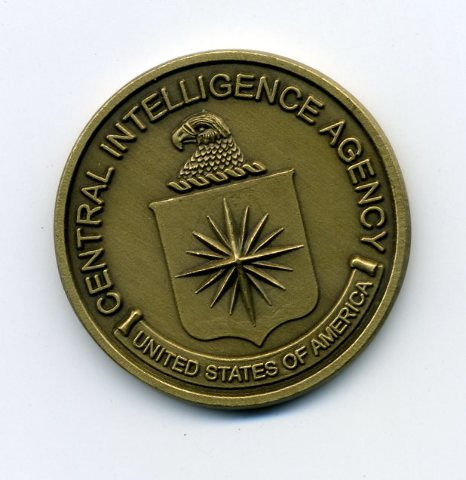 """U.S. Central Intelligence Agency CIA Challenge Coin - Engravable - 1.5"""""""