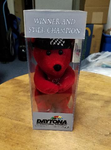 Vintage 1999 Daytona 500 Feb 2000 PIT CREW Beanie Bear NASCAR 816/25,000 In Box