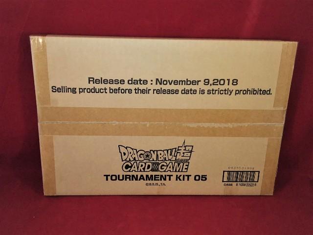 Dragon Ball Super CCG Card Game Tournament Kit 05 NEW Sealed NIB Bandai