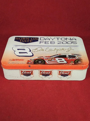 2005 Action 1:64 #8 Dale Earnhardt Jr Bud Born On 3-Car Set In Tin Ltd Ed