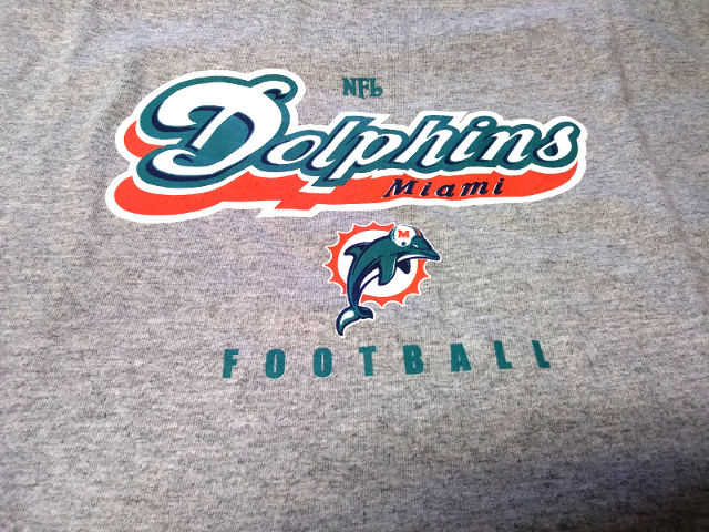 NFL Miami Dolphins Gray Sleeveless T-Shirt Muscle Tank Top Size XL Football NWT
