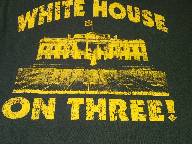 Green Bay Packers Green T-Shirt Size M White House On Three Charles Woodson