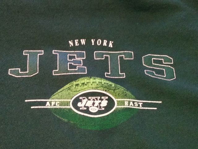 NFL Green New York Jets Sweatshirt Size XL Football AFC East