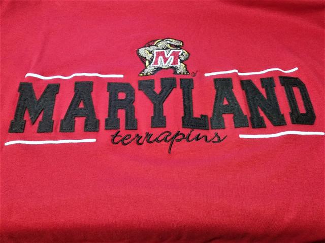 Cadre Red University Of Maryland Terrapins T-Shirt Men's Sz XL NWT NCAA Football