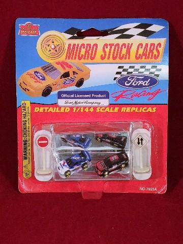 Imperial Die-Cast Ford Racing Micro Stock Cars Jeff Burton Mark Martin NIP