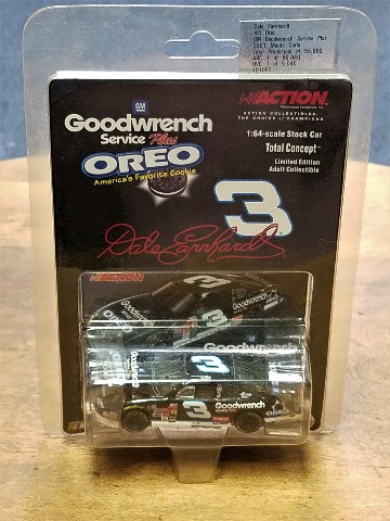 2001 Action Racing 1:64 #3 Dale Earnhardt/Goodwrench/Oreo /55,080