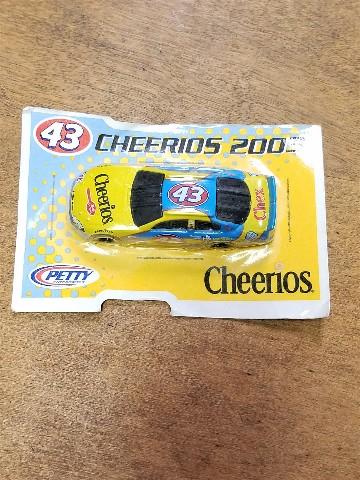 2002-04 General Mills Petty Promo 1:64 #43 John Andretti/2003 Cheerios On Card