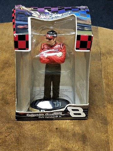 2003 Trevco Winner's Circle Dale Earnhardt Jr Christmas Ornament Figure NASCAR
