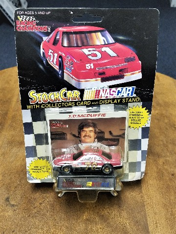 1991 Racing Champions 1:64 #70 J.D. McDuffie/Son's Auto Diecast Car NASCAR NOS