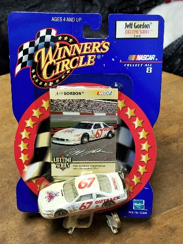 1999 Winner's Circle Lifetime Jeff Gordon 1:64 #67 1990 Outback 3/8 NOC
