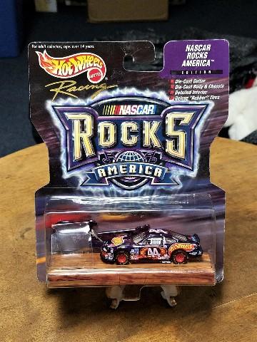 1999 Hot Wheels Racing NASCAR Rocks America 1:64 #44 Kyle Petty/Hot Wheels