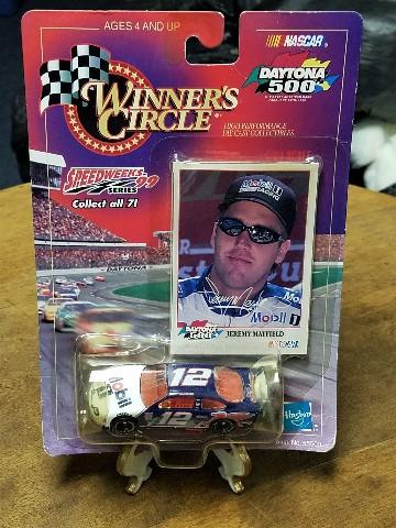 1999 Winner's Circle Speedweeks 1:64 #12 Jeremy Mayfield/Mobil 1 NASCAR
