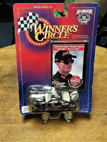 1998 Winner's Circle 1:64 #1 Dale Earnhardt Jr./Coca-Cola Coke Car NASCAR