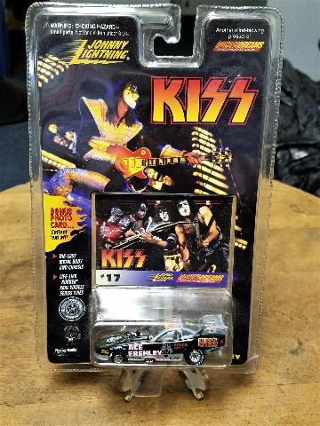 """1997 KISS Johnny Lightning Funny Car #17 Ace Frehley """"You Go, Boys!"""""""