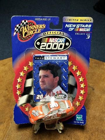 2000 Winner's Circle New Stars 1:64 #20 Tony Stewart/Home Depot Diecast NASCAR