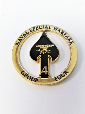 Naval Special Warfare Group Four NSWG-4 SBT-12 SBT-20 SBT-22 Challenge Coin