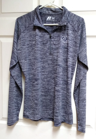 Russell ODU Old Dominion Monarchs Pullover 1/4 Zip Athletic Jacket  Sz XL NCAA
