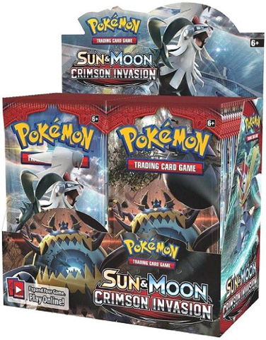 Pokemon TCG Sun & Moon Crimson Invasion Booster 36 Pack BOX (Sealed)(English)
