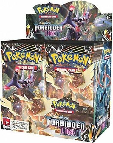 Pokemon TCG Sun & Moon Forbidden Light Booster 36 Pack BOX (Sealed)(English)