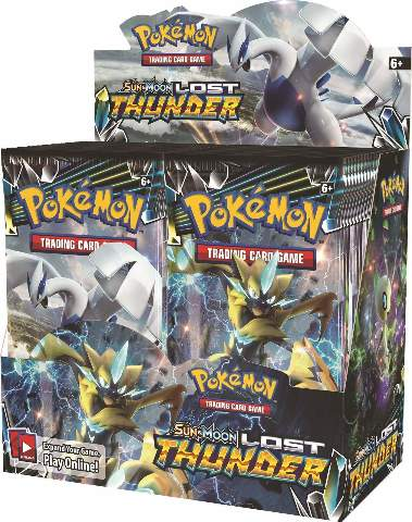 Pokemon TCG Sun & Moon Lost Thunder Booster 36 Pack BOX (Sealed)(English)