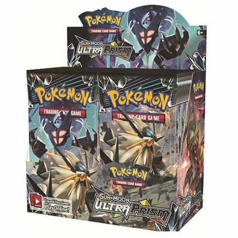 Pokemon TCG Sun & Moon Ultra Prizm Booster 36 Pack BOX (Sealed)(English)