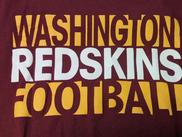 Reebok Washington Redskins Football Red Graphic T-Shirt Men's Size 2XL XXL NFL