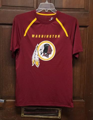 Majestic Cool Base Washington Redskins Red Activewear T-Shirt Men's Size M