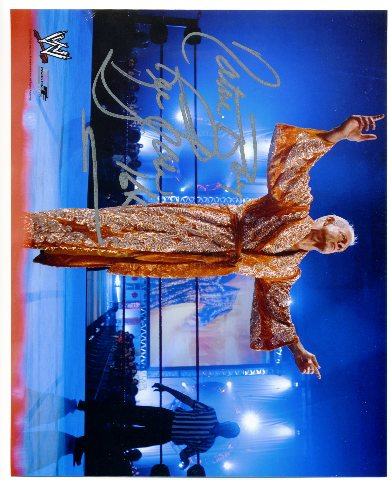 Ric Flair 16X Signed WWE 8x10 Wrestling Photo Autograph Auto From CSA Show