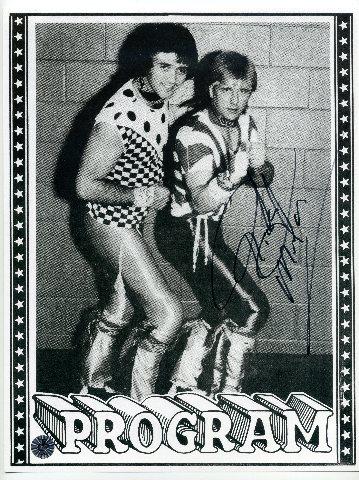 Ricky Morton Autographed 8.5x11 Photo Wrestling WWF WCW WWE Rock & Roll Express