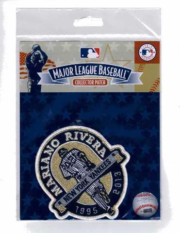 MLB Major League Baseball Official Collector Patch Mariano Rivera