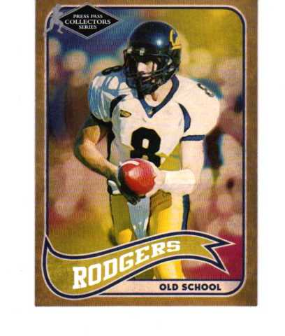 2005 Press Pass SE Old School Collectors Series Full 27 Card Set Aaron Rodgers