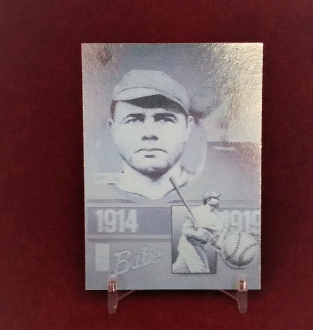 1992 Gold Entertainment Babe Ruth Series Complete 5 Card Set Holograms