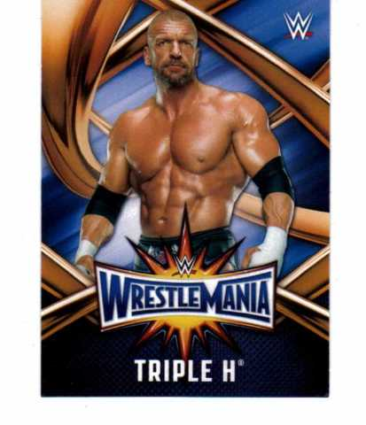 2017 Topps WWE Road To WrestleMania WrestleMania 33 Roster 50 Card Set