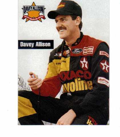 1993 Maxx Texaco Davey Allison Complete 20 Card Set NASCAR Racing