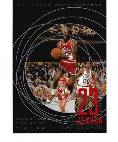 1996 Upper Deck 23 Nights Michael Jordan Experience 23 Jumbo Card Set Basketball