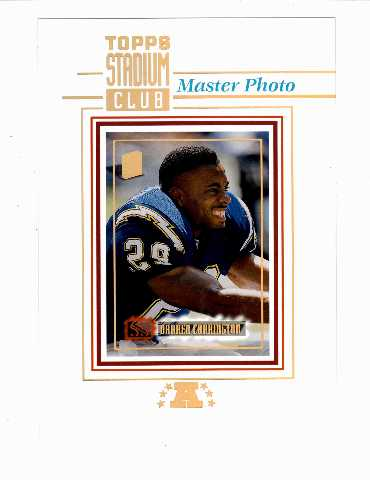 1994 Stadium Club Members Only Conference Redemption Master Photos Chargers