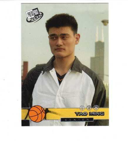 2002 PRESS PASS Complete 45 Card Set Basketball NBA Yao Ming