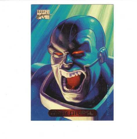 1994 Fleer Marvel Masterpieces Complete 140 Card Set Black Panther Gambit
