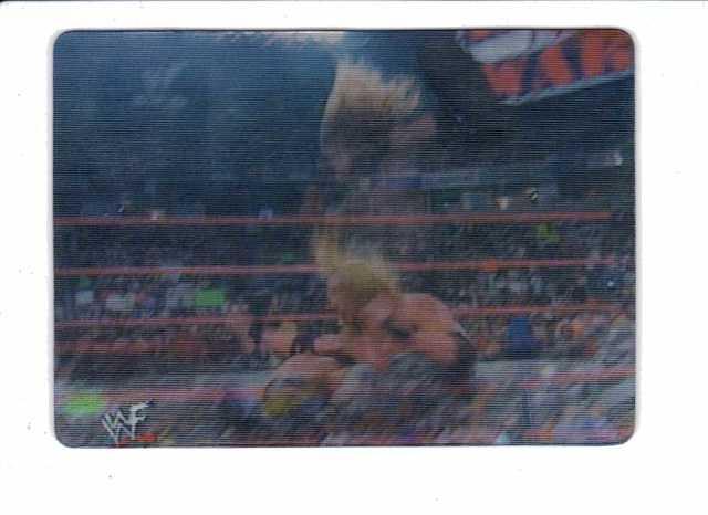 2001 ARTBOX WWF SLAMS! MOTIONCARDZ 43 Card Set Wrestling Undertake Edge The Rock