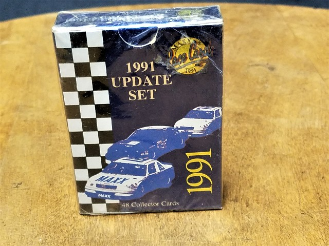 1991 MAXX UPDATE Complete 48 Card Set Factory Sealed Racing NASCAR