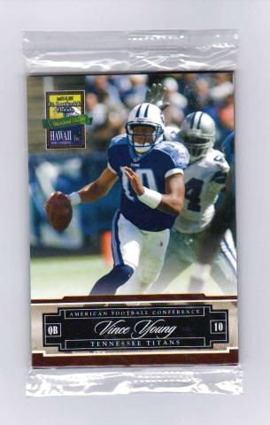 2007 Donruss/Playoff Hawaii Trade Conference 6 Card Set NFL Peyton Manning