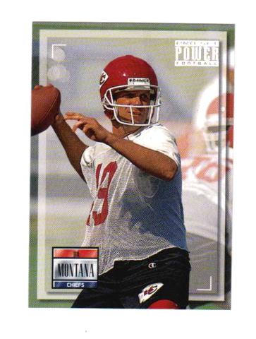 1993 Pro Set Power Football Complete 200 Card Set Joe Montana Warren Moon NFL